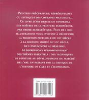 1000 Chefs-D'Oeuvre De La Peinture Europeenne Du Xiii Au Xix - 4ème de couverture - Format classique