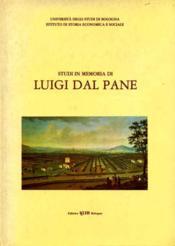 Studi in memoria di Luigi dal Pane. - Couverture - Format classique