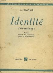 Identite (Wasteland) - Couverture - Format classique