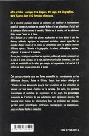 Dictionnaire Encyclopedique Des Drogues - 4ème de couverture - Format classique