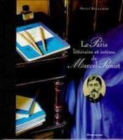 Le paris litteraire et intime de marcel proust - Couverture - Format classique