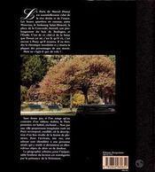 Le paris litteraire et intime de marcel proust - 4ème de couverture - Format classique