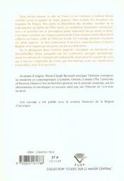 Histoires De Papier. La Papeterie Auvergnate Et Ses Historiens - 4ème de couverture - Format classique