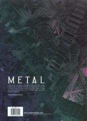 Metal T.1 ; Le Musee D'Airain - 4ème de couverture - Format classique