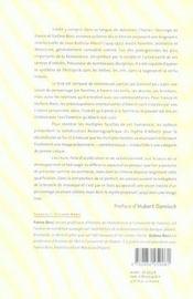 Leon Battista Alberti. Une Biographie Intellectuelle - 4ème de couverture - Format classique