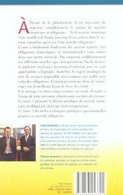 Marches monetaire et obligataire. tome 2techni juridi opera marche obligataire - 4ème de couverture - Format classique
