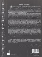 Romancero Courtois 1421 1551 - 4ème de couverture - Format classique