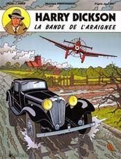 Harry Dickson T.1 ; La Bande De L'Araignée - Intérieur - Format classique
