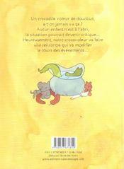 Le Crocovoleur De Doudous - 4ème de couverture - Format classique