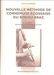 Nouvelle Methode De Cornemuse 1 - Couverture - Format classique