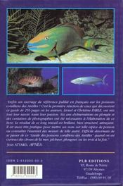 Les poissons coralliens - 4ème de couverture - Format classique