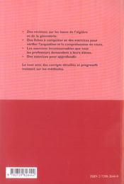 FICHES et methodes - 4ème de couverture - Format classique