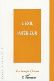 L'exil intérieur - Couverture - Format classique