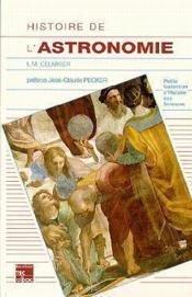 Histoire de l'astronomie occidentale - Couverture - Format classique