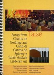 Chants de Taizé : partitions pour guitare - Intérieur - Format classique
