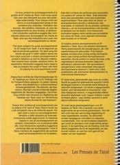 Chants de Taizé : partitions pour guitare - 4ème de couverture - Format classique