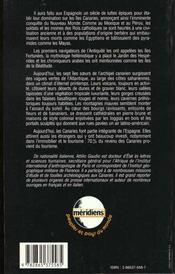 Les Iles Canaries - 4ème de couverture - Format classique