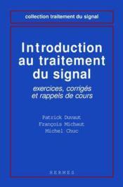 Indroduction au traitement du signal - Couverture - Format classique