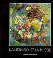 Kandinsky Et La Russie/Broche - Couverture - Format classique