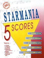 Starmania ; 5 scores - Couverture - Format classique