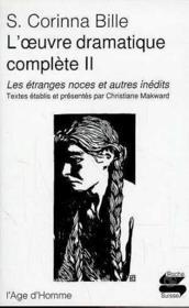Oeuvre Dramatique Complete T.2 Ps152 - Couverture - Format classique