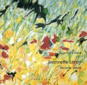 Jeannette Leroy Seconde Nature - Couverture - Format classique