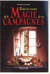 Toutes Recettes Magie Campagnes - Intérieur - Format classique