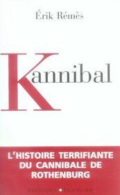 Kannibal - Intérieur - Format classique