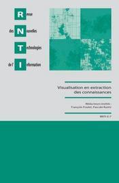 Visualisation en extraction des connaissances - Intérieur - Format classique
