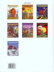 Nab T.7 ; Panique A Diplodocus-Land - 4ème de couverture - Format classique