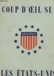 Coup D'Oeil Sur Les Etats-Unis - Couverture - Format classique