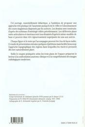 Anatomie Topographique Parois Du Tronc Visceres De L'Abdomen - 4ème de couverture - Format classique