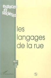 Le langage de la rue - Couverture - Format classique