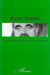 Un Homme D'Affaires Premier Ministre Rafic Hariri - Intérieur - Format classique