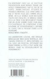 Hemorragie Dans L'Oeil Du Cyclone Mental - 4ème de couverture - Format classique