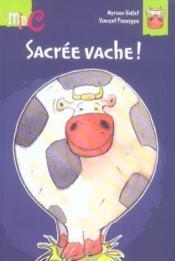 Sacree Vache - Couverture - Format classique