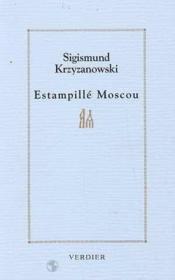 Estampille Moscou - Couverture - Format classique
