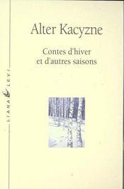 Contes d'hivers et d'autres saisons - Intérieur - Format classique