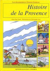 Histoire de la Provence - Couverture - Format classique