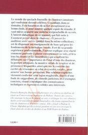 Manuel De Chant. Technique, Pratique, Posture - 4ème de couverture - Format classique