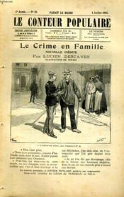 Le crime en famille - Couverture - Format classique