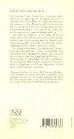 Elements pour les annees soixante - 4ème de couverture - Format classique