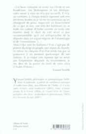 Qui sont les barbares ? ; itinéraire d'un penseur d'Islam - 4ème de couverture - Format classique