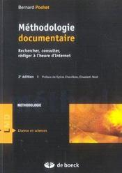 Méthodologie documentaire - Intérieur - Format classique