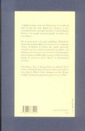 Sur le chemin de jérusalem - 4ème de couverture - Format classique