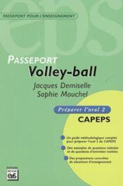 Volley ball ; passeport - Couverture - Format classique