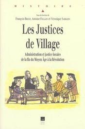 Justices De Village - Intérieur - Format classique