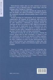 Circulation des almananchs en europe - 4ème de couverture - Format classique