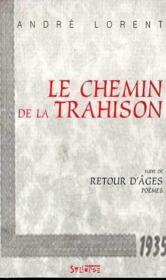 Chemin De La Trahison - Couverture - Format classique