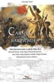 Carnet Des Barricades - Couverture - Format classique
